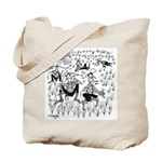 Dude Ranch Cartoon 4690 Tote Bag