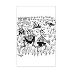 Dude Ranch Cartoon 4690 Mini Poster Print