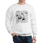 Dude Ranch Cartoon 4690 Sweatshirt