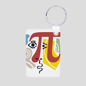 Pi Symbol Pi-Casso Keychains