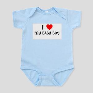 I LOVE MY BABY BOY Infant Creeper