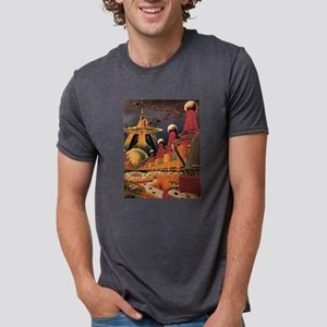 Vintage Science Fiction Futuristic City T-Shirt