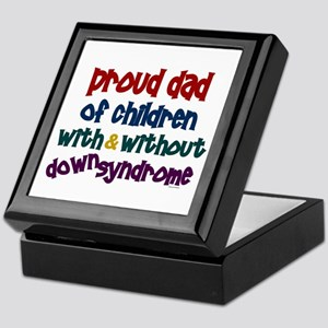 Proud Dad.....2 (With & Without DS) Keepsake Box