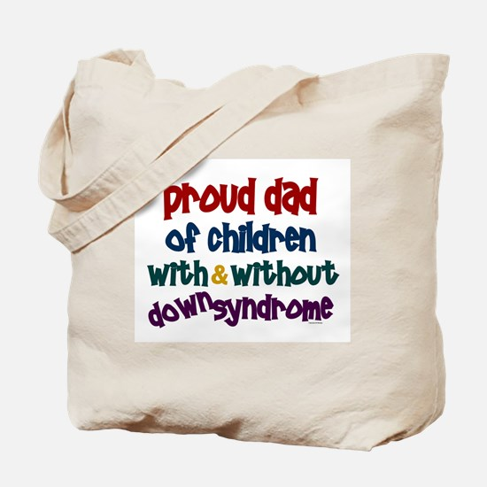 Proud Dad.....2 (With & Without DS) Tote Bag