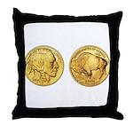 Wy-Gold Indian/Buffalo Throw Pillow