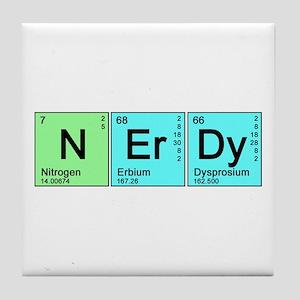 Periodic Nerd Tile Coaster