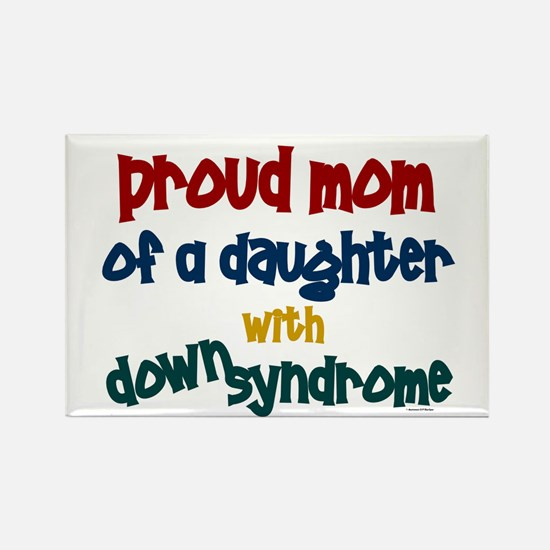 Proud Mom.....2 (Daughter DS) Rectangle Magnet (10