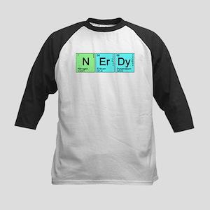 Periodic Nerd Kids Baseball Jersey