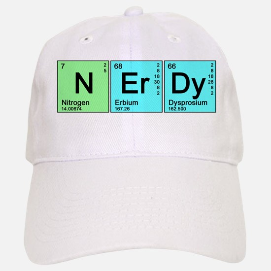 Periodic Nerd Baseball Baseball Cap