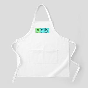 Periodic Nerd BBQ Apron