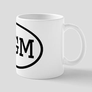 PGM Oval Mug