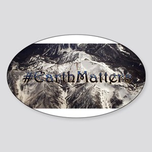 Earth Matters Small Print Sticker