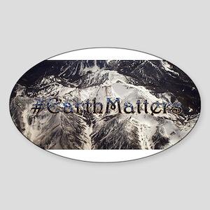 Earth Matters Small Print Sticker
