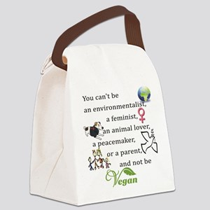 You can't be Canvas Lunch Bag