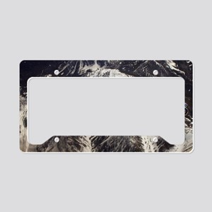 Earth Matters Small Print License Plate Holder