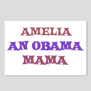 Amelia - An Obama Mama Postcards (Package of 8)