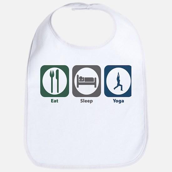Eat Sleep Yoga Bib