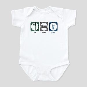 Eat Sleep X-Ray Infant Bodysuit