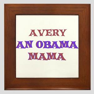 Avery - An Obama Mama Framed Tile