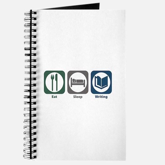 Eat Sleep Writing Journal
