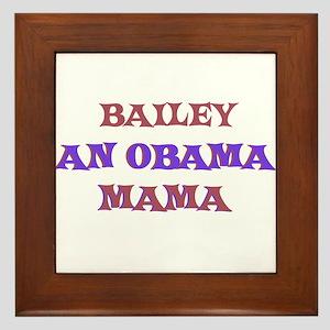 Bailey - An Obama Mama Framed Tile