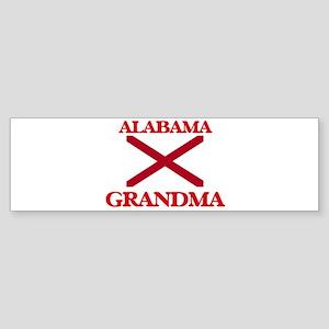 Alabama Grandma Bumper Sticker