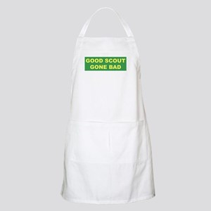Good Scout Gone Bad (Green) BBQ Apron