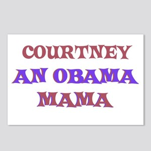 Courtney - An Obama Mama Postcards (Package of 8)