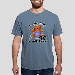 Hug me I Am 39 Birthday Mens Comfort Colors Shirt