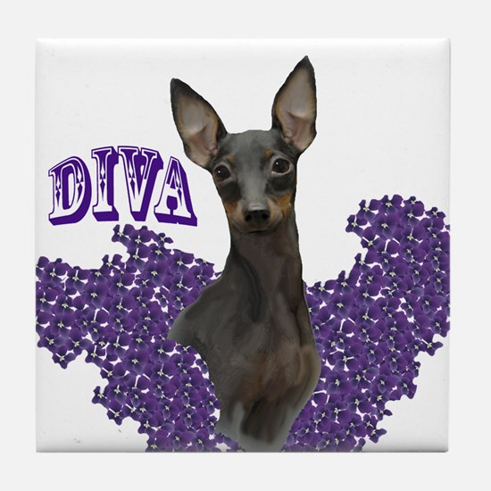 toy manchester diva Tile Coaster