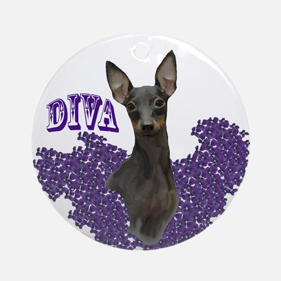 toy manchester diva Ornament (Round)