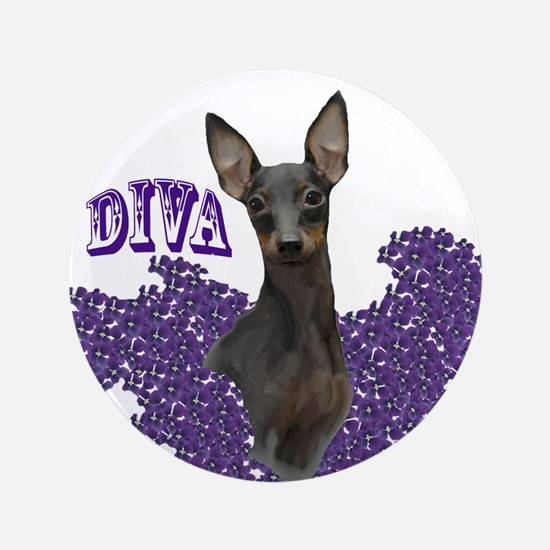 """toy manchester diva 3.5"""" Button"""