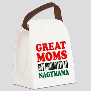 Promoted To Nagymama Drinkware Canvas Lunch Bag