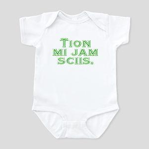 I know Infant Bodysuit