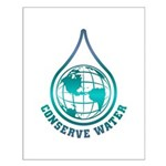 Conserve Water Small Poster