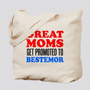 Promoted To Bestemor Drinkware Tote Bag