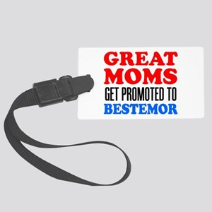 Promoted To Bestemor Drinkware Luggage Tag