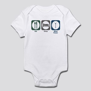 Eat Sleep Wind Power Infant Bodysuit