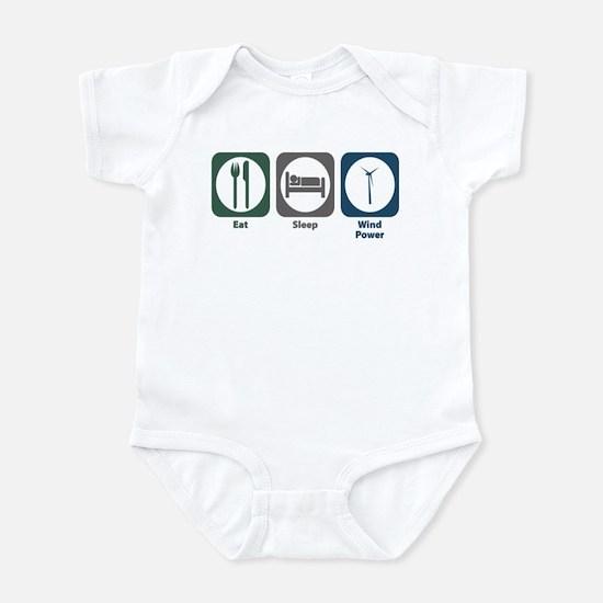 Eat Sleep Wind Power Infant Bodysuit