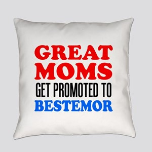 Promoted To Bestemor Drinkware Everyday Pillow