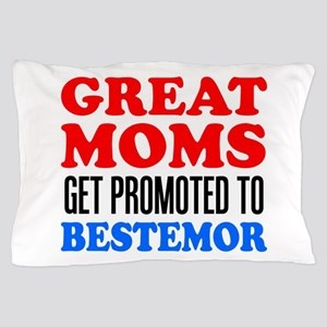 Promoted To Bestemor Drinkware Pillow Case