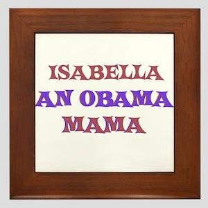 Isabella - An Obama Mama Framed Tile