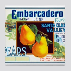 Embarcadero Tile Coaster