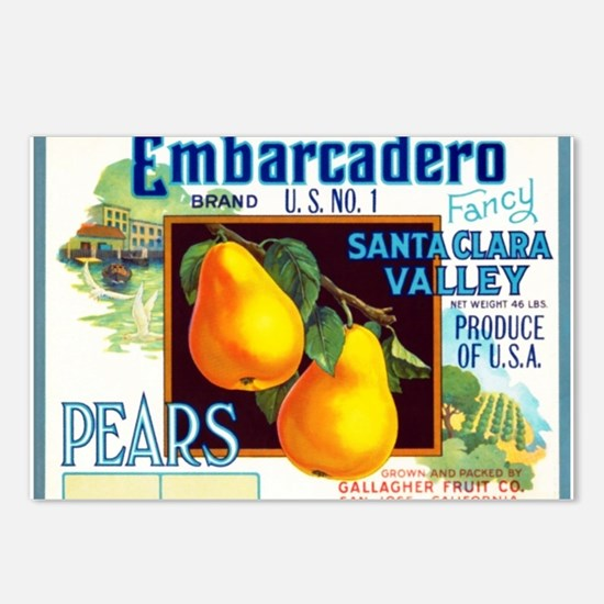 Embarcadero Postcards (Package of 8)