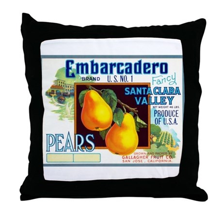 Embarcadero Throw Pillow