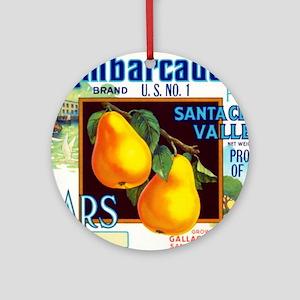 Embarcadero Ornament (Round)