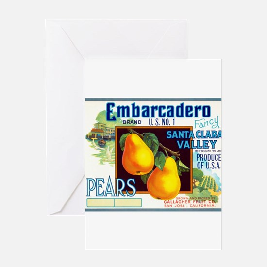 Embarcadero Greeting Card