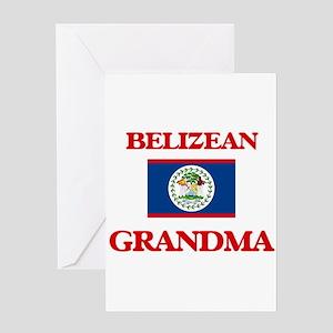 Belizean Grandma Greeting Cards