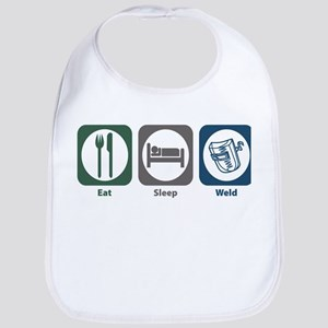 Eat Sleep Weld Bib