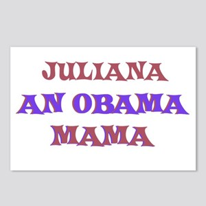 Juliana - An Obama Mama Postcards (Package of 8)